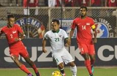 Indonesia vào bán kết sau chiến thắng nghẹt thở trước Singapore