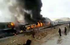 Tai nạn tàu hỏa thảm khốc tại Iran, hàng chục người thương vong