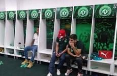 Cảnh tang thương ở phòng thay đồ của câu lạc bộ Chapecoense