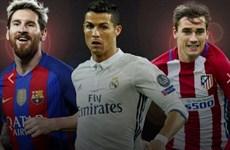 FIFA công bố tốp 3 ứng viên Cầu thủ xuất sắc nhất năm 2016