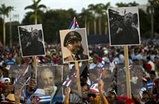 [Photo] Dòng người tiễn biệt lãnh tụ Fidel Castro về nơi an nghỉ