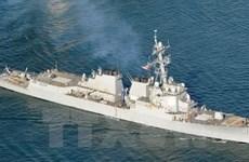 Mỹ duy trì hiện diện ở Biển Đông bất chấp tranh cãi với Trung Quốc