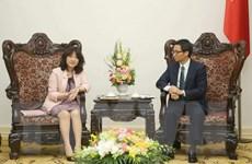 Phó Thủ tướng Vũ Đức Đam tiếp lãnh đạo Đảng Tự do dân chủ Nhật Bản