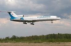 Máy bay Tu-154 của Bộ Quốc phòng Nga rơi có thể do sự cố kỹ thuật