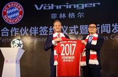 """Bayern Munich """"vươn tay"""" sang thị trường tiềm năng Trung Quốc"""