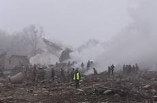 Tổng thống Kyrgyzstan tuyên bố để quốc tang sau vụ rơi máy bay