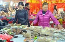 Nhiều đặc sản địa phương, vùng miền tại Hội chợ Xuân Giảng võ