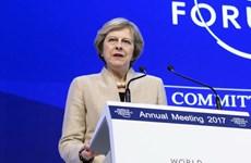 Vấn đề Brexit làm nóng Diễn đàn Kinh tế thế giới tại Davos