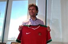 Cựu sao Barca và Real chính thức trở thành HLV tuyển Indonesia