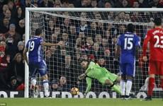 Diego Costa sút hỏng penalty, Chelsea hòa đáng tiếc Liverpool