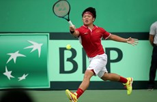 Tuyển quần vợt Việt Nam thất bại trước Hong Kong tại Davis Cup