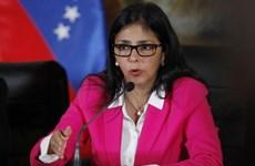 Ngoại trưởng Venezuela Rodríguez tiếp tục công du Trung Đông