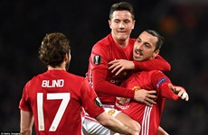 Kết quả Europa League: Ibrahimovic lập hat-trick, AS Roma gây sốc