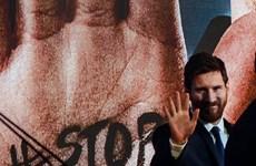 Lionel Messi đến Ai Cập tham gia chiến dịch chống viêm gan C