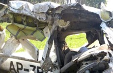 Rơi máy bay huấn luyện tại Pakistan, hai người thiệt mạng