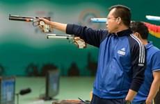 Hoàng Xuân Vinh giành huy chương bạc Cúp bắn súng thế giới