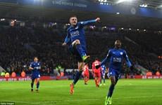Leicester City vùi dập Liverpool sau khi sa thải HLV Ranieri