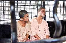 Thái Lan giữ án tử hình 2 người Myanmar vì sát hại du khách Anh