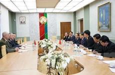 Bộ Công an hội đàm với Bộ Nội vụ và Ủy ban An ninh Quốc gia Belarus