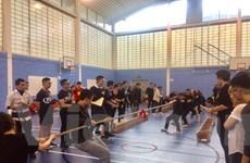 Sôi động ngày hội thể thao của sinh viên Việt Nam tại Anh