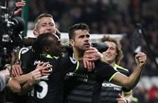Hazard và Costa lập công, Chelsea tiến bước dài tới chức vô địch