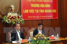 Tháo gỡ những khó khăn trong xây dựng đặc khu Bắc Vân Phong