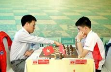 Kỳ thủ Lê Quang Liêm trở lại tốp đầu tại giải Cờ vua quốc tế