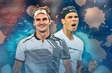 """Chung kết sớm"" Rafael Nadal - Roger Federer tại Indian Wells"