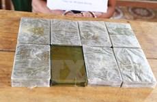 Hà Nội: Bắt 2 đối tượng mua bán trái phép 40 bánh heroin