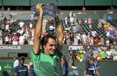"""Roger Federer đăng quang tại Indian Wells sau trận """"nội chiến"""""""