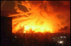 Ukraine nghi ngờ 'có bàn tay' của Nga trong vụ nổ kho đạn