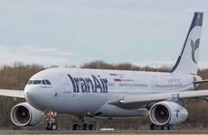 Iran tiếp nhận chiếc máy bay chở khách thứ ba của hãng Airbus