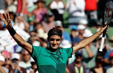 Hạ gục Del Potro, Roger Federer thẳng tiến vòng 4 Miami Open