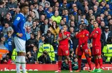 Đánh bại Everton, Liverpool trở lại tốp 3 Premier League