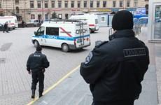 Xử lý an toàn quả bom tự chế gần ga tàu điện ngầm St Petersburg
