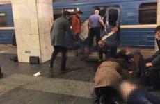 Hiện trường tang thương trong vụ nổ ga tàu điện ngầm ở Nga
