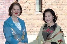 Chủ tịch Quốc hội Nguyễn Thị Kim Ngân gặp Thị trưởng Stockholm