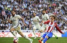 Griezmann tỏa sáng, Atletico buộc Real chia điểm tại Bernabeu