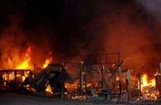 Hỏa hoạn tại địa điểm ẩn tu Hồi giáo, hơn 100 người thương vong