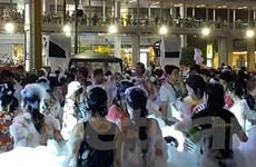 Người dân khắp đất nước Thái Lan chính thức đón Tết Songkran