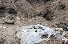 Phát hiện hố chôn tập thể hài cốt liệt sĩ tại sân bay Biên Hòa