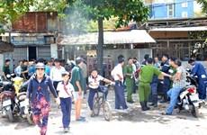 Thành phố Hồ Chí Minh: Nổ tại nhà trọ, một phụ nữ tử vong