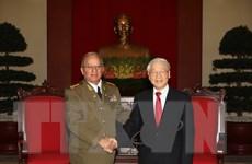 Bộ trưởng Quốc phòng Cuba đánh giá cao chuyến thăm Việt Nam