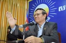 Campuchia: Đảng Cứu nguy dân tộc thông báo đại hội bất thường