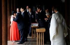Hàn Quốc thất vọng về việc chính trị gia Nhật thăm đền Yasukuni
