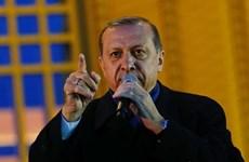 """Tổng thống Thổ Nhĩ Kỳ tố nhà nghiên cứu Pháp """"xúi giục ám sát"""""""