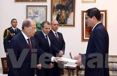 Liban mong muốn thúc đẩy hơn nữa mối quan hệ với Việt Nam
