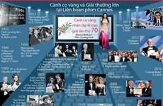 [Infographics] Cành cọ vàng và Giải thưởng lớn tại LHP Cannes