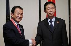 Nhật-Trung nhất trí tăng cường hợp tác kinh tế, tài chính