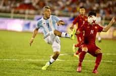 Clip chiến thắng đậm của U20 Argentina trước U20 Việt Nam